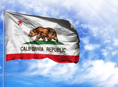 FILE - California state flag