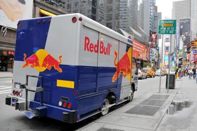 Red Bull van