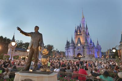 FILE - Disney World