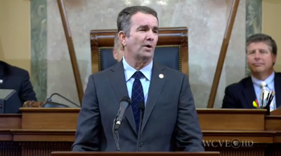 FILE - VA Governor Ralph Northam 1-9-2019