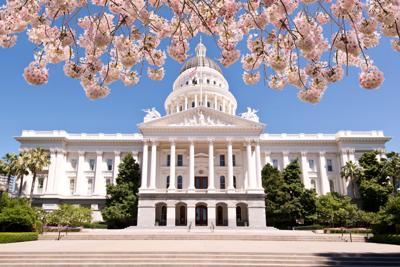 FILE - California State Capitol