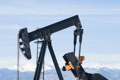 FILE - Colorado oil pump jack