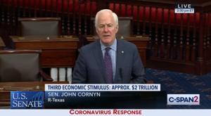 Senate convenes to debate $2 trillion coronavirus package; vote expected this afternoon