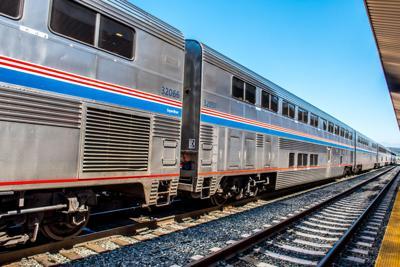 FILE - Amtrak