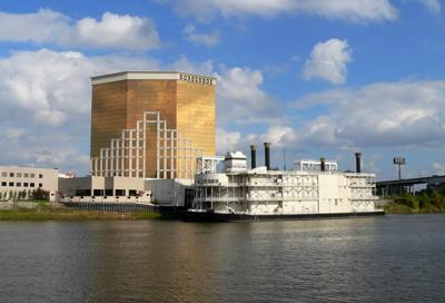 FILE - Riverboat Casino in Louisiana, gambling