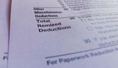 FILE - State and local tax deuctions, IRS SALT deductions