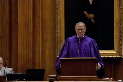 FILE - South Carolina Senate President Harvey Peeler