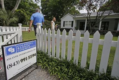 FILE - South Carolina home sales