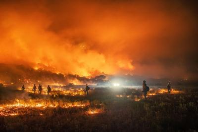 Pine Gulch Fire Colorado