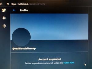 Twitter permanently bans President Trump, claiming potential to 'incite violence'