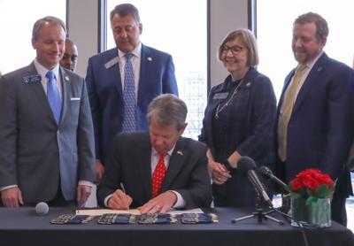 Gov. Brian Kemp bill signing