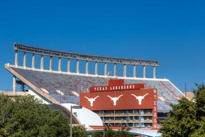 FILE - Texas Longhorns stadium