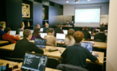 FILE - School classroom