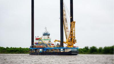 FILE - Gulf oil rig Louisiana