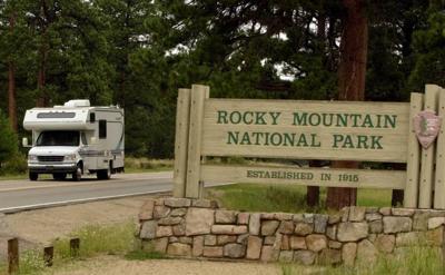 FILE - Rocky Mountain National Park