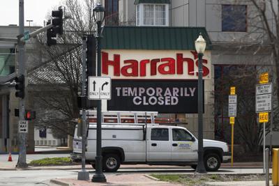 FILE - Harrah's Casino, Joliet, Virus Outbreak Illinois Daily Life