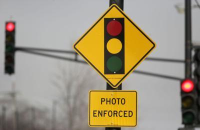 FILE - Red Light Camera Ban