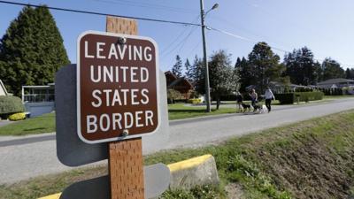 FILE —U.S.-Canadian border