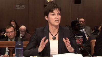 FILE - PA Human Services Sec. Teresa Miller