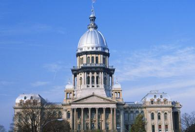 FILE - Illinois State Capitol