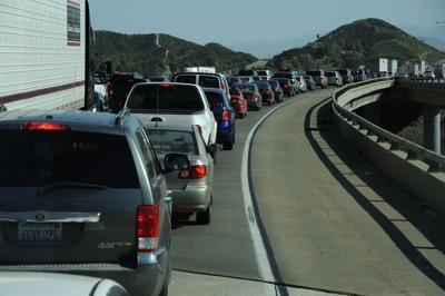 FILE - Arizona traffic