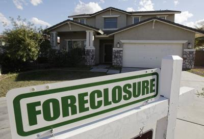 FILE - Home Foreclosure