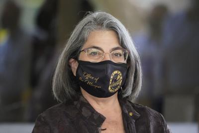 FILE - Miami-Dade County Mayor Daniella Levine Cava