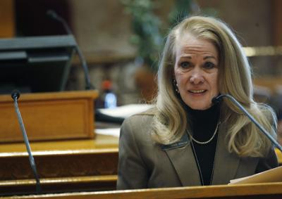 FILE - Colorado State Sen. Vicki Marble