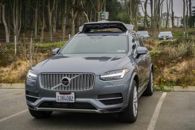FILE - driverless car, autonomous vehicle