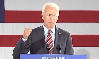 FILE - PA Joe Biden 10-23-2019