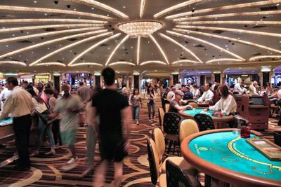 FILE - Casino, gambling