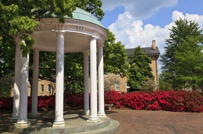 FILE - University of North Carolina campus Old Well