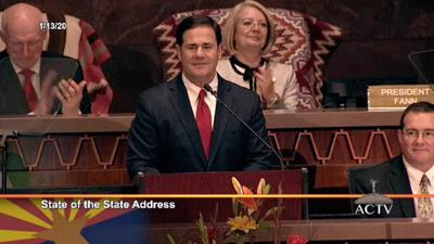 Arizona Gov. Doug Ducey 2020 State of the State