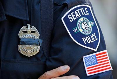 FILE — Seattle police badge