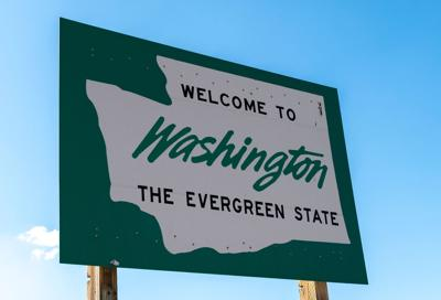 FILE - Welcome to Washington State