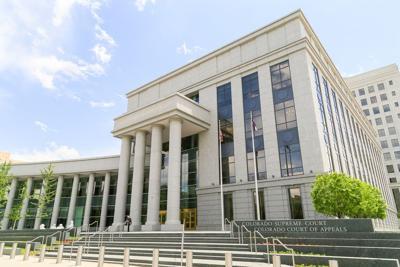 FILE - Colorado Supreme Court building