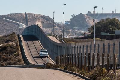 FILE - Border security