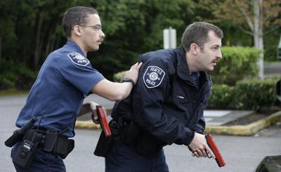FILE —Seattle police training