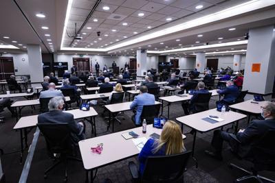 File-Indiana Legislature Social Distancing