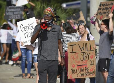George Floyd Protest In Florida
