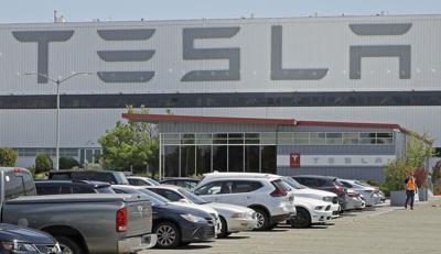 FILE - Tesla Texas