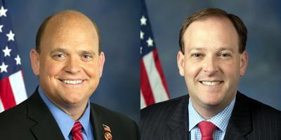 FILE - NY US Reps Tom Reed, Lee Zeldin