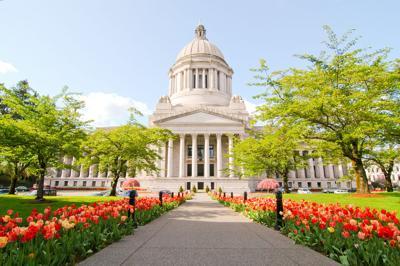 FILE - Washington state Capitol building