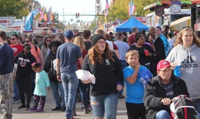 FILE - OH Crowd, Circleville, Pumpkin Festival 10-19-2019