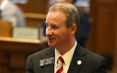 FILE - Georgia state Sen. John Albers