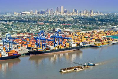 FILE - Port of New Orleans