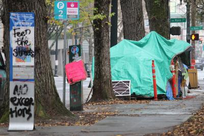 FILE — Oregon homeless