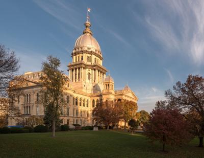 FILE - Illinois State Capitol