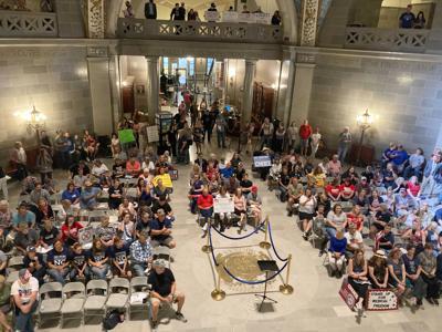 FILE - Jefferson City, Virus Outbreak Missouri Legislature