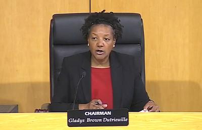 FILE - PA Gladys Brown Dutrieuille 10-24-2019